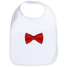 Bow Tie Red Bib