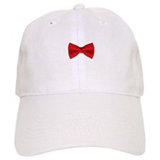 Bow Tie Red Baseball Cap
