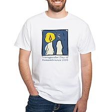 Transgender Day of Remembrance White T-shirt