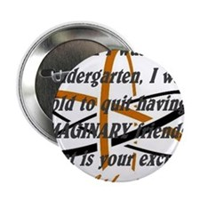 "Imaginary Friend 2.25"" Button"