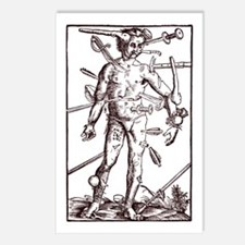 Wound Man Postcards (Package of 8)