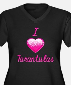 I Love/Heart Tarantulas Women's Plus Size V-Neck D
