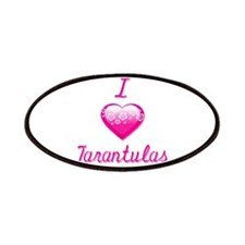 I Love/Heart Tarantulas Patches
