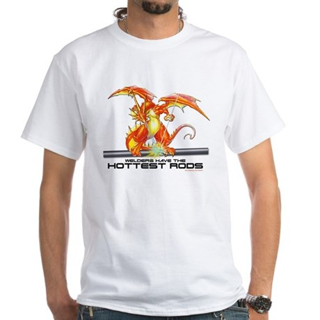 Welding Dragon Ash Grey T-Shirt T-Shirt