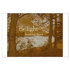 Twilight Breaking Dawn Large Poster