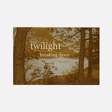 Twilight Breaking Dawn Rectangle Magnet
