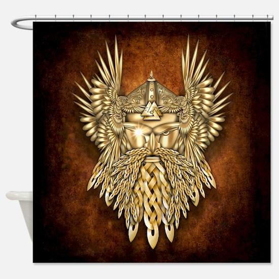 Odin - God of War Shower Curtain