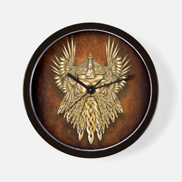 Odin - God of War Wall Clock