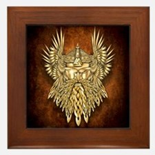 Odin - God of War Framed Tile