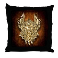 Odin - God of War Throw Pillow