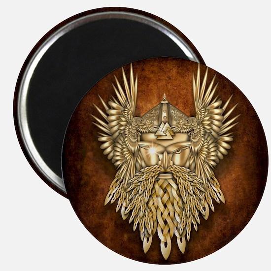 Odin - God of War Magnet