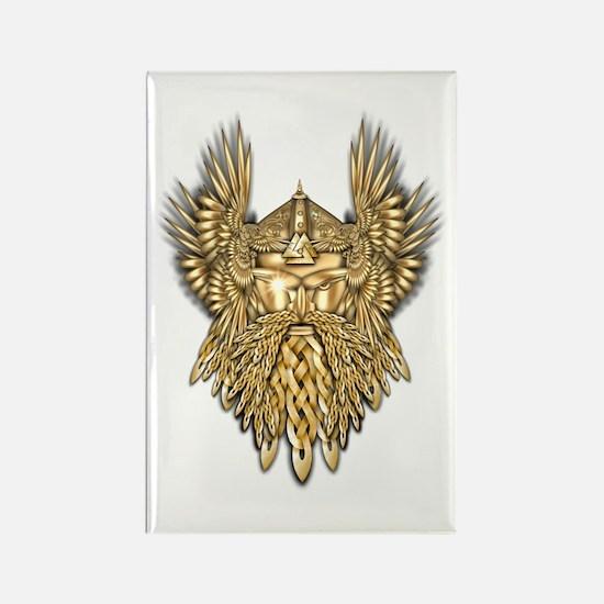 Odin - God of War Rectangle Magnet