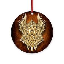Odin - God of War Ornament (Round)