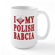 I Heart My Polish Babcia Mug