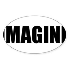 Be Bold IMAGINE Rectangle Decal