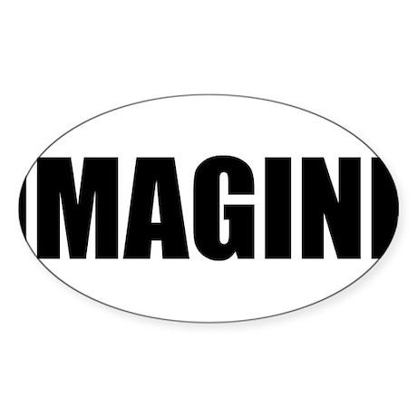 Be Bold IMAGINE Rectangle Sticker