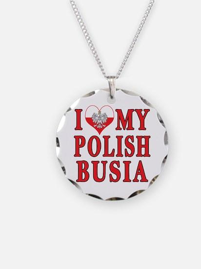 I Heart My Polish Busia Necklace