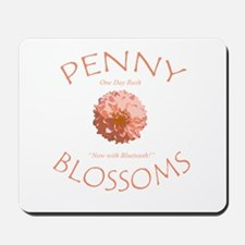 Penny Blossom with Bluetooth Mousepad