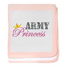 Army Princess baby blanket
