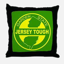 New jersey Strong Throw Pillow