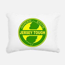 New jersey Strong Rectangular Canvas Pillow