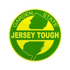 "New jersey Strong 3.5"" Button"