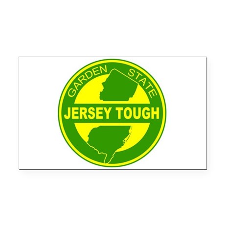 New jersey Strong Rectangle Car Magnet