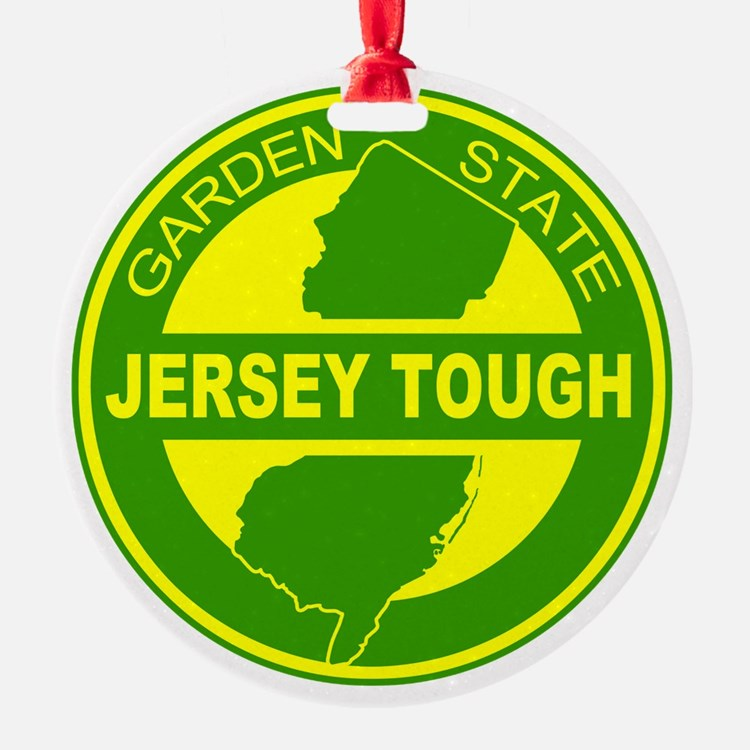 New jersey Strong Ornament