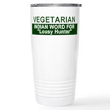 Cute Funny vegetarian Travel Mug