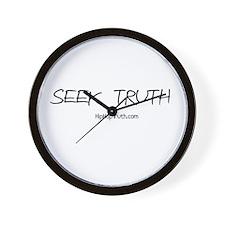 Seek Truth Wall Clock