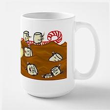 Marshmallows Drowning in Hot Chocolate Large Mug