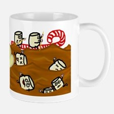 Marshmallows Drowning in Hot Chocolate Small Mugs