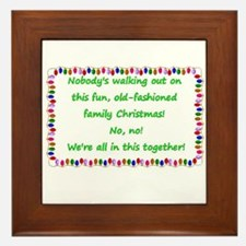 National Lampoon's Christmas Vacation quote Framed
