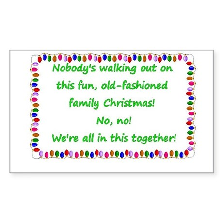 National Lampoon's Christmas Vacation quote Sticke