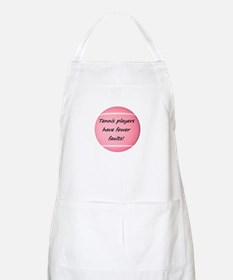Tennis players have fewer faults! Apron