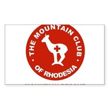 Rhodesian mountain club mountain rescue Decal