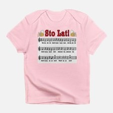 Sto Lat! Song With Beer Mugs Infant T-Shirt