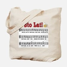Sto Lat! Song With Beer Mugs Tote Bag