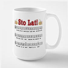Sto Lat! Song With Beer Mugs Mug