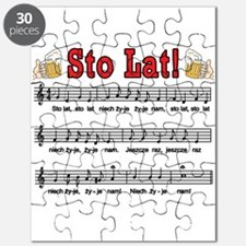 Sto Lat! Song With Beer Mugs Puzzle