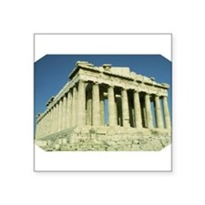 "Parthenon Square Sticker 3"" x 3"""