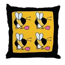 cleaner,maid Throw Pillow