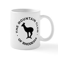 Rhodesia Mountain club black Mug