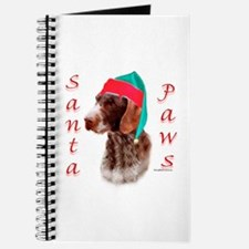 Santa Paws Wirehaired Pointer Journal