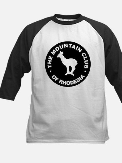 Rhodesian Mountain Club white on black Tee