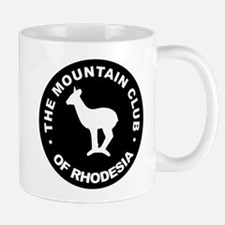 Rhodesian Mountain Club white on black Mug