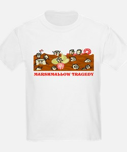 Funny Marshmallow Tragedy T-Shirt