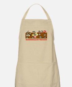 Funny Marshmallow Tragedy Apron