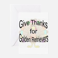 Thanks for Golden Greeting Cards (Pk of 10)