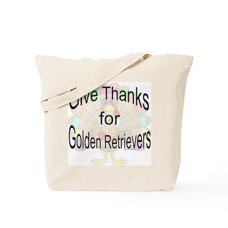 Thanks for Golden Tote Bag